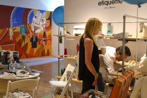 Etiquette clothiers at Playtime New York, summer 2015