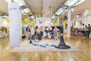 Trend Space 'New Tribes' art installation by Aran Baik, styling by Mariah Walker