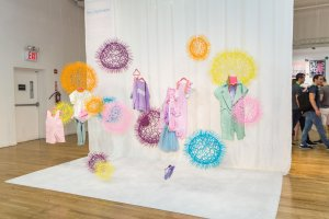 Trend Space 'Neo Optimism' art installation by Sui Park, styling by Mariah Walker