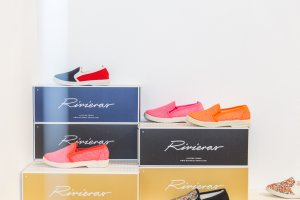 Rivieras shoes at Playtime New York, summer 2018