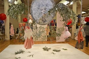 Winter wonderland' trend space by Tara Linzalone, winter 2016