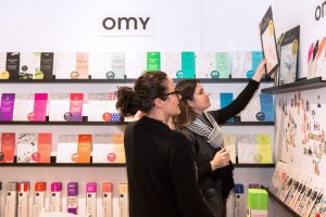 Omy at Playtime New York, winter 2018