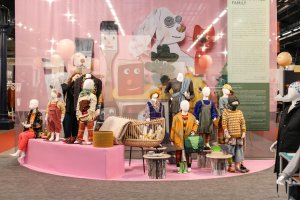 Trend Space 'The Committed Family' at Playtime Paris, winter 2019