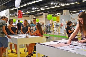 Crea.tif space at Playtime Paris, summer 2015
