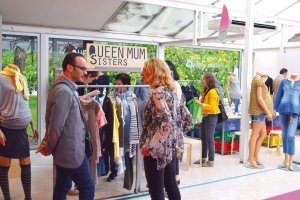 Queen Mum at Playtime Paris, summer 2016