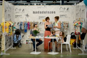 Nadadelazos at Playtime Paris, summer 2019
