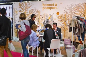 Bonnet a Pompon at Playtime Paris, winter 2015