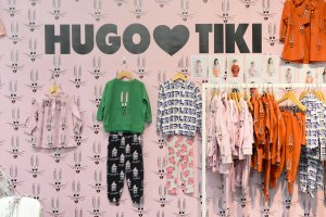 hugo loves tiki at Playtime Paris, winter 2017