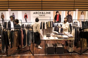 arch&line at Playtime Tokyo, February 2019